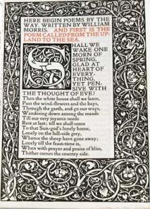 page morris kelmscott