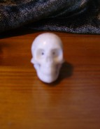 Carved bone. Indonesia 2013. Donated by S. Beings