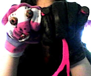 Titus and Fuchsia - Superstar Sock Puppets. Bella Basura 2015