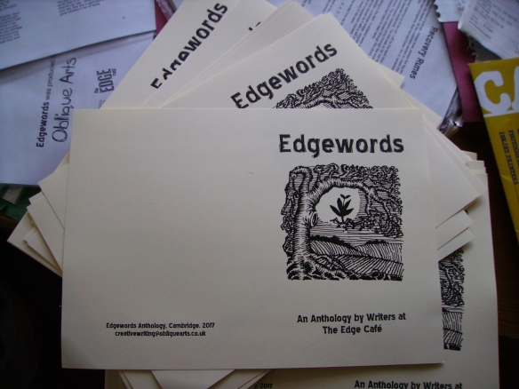 Printing Edgewords, Bella Basura November 2017.