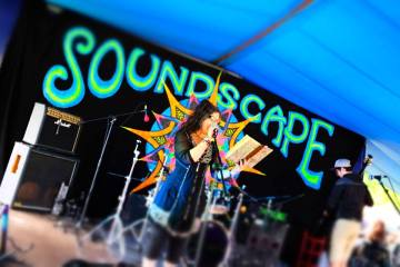 Soundscape Stage June 2018 by Jo Brown