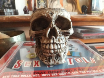 55th Birthday Skull.